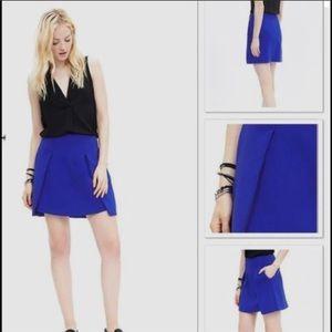 Banana Republic Cobalt Blue Skirt